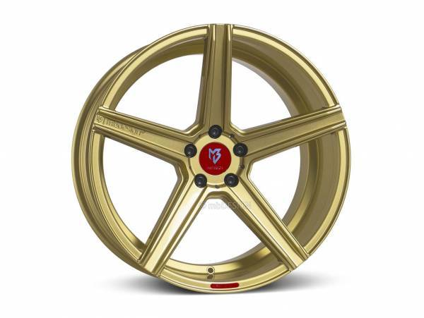 "mbDESIGN KV1 9,0x20"" 5x120 ET42 65.1 5L1 gold VW"