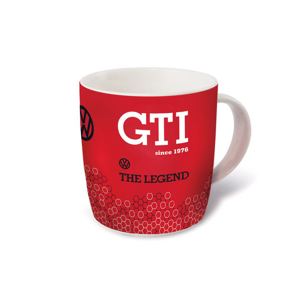 VW GTI Kaffeetasse 370ml - The Legend/rot