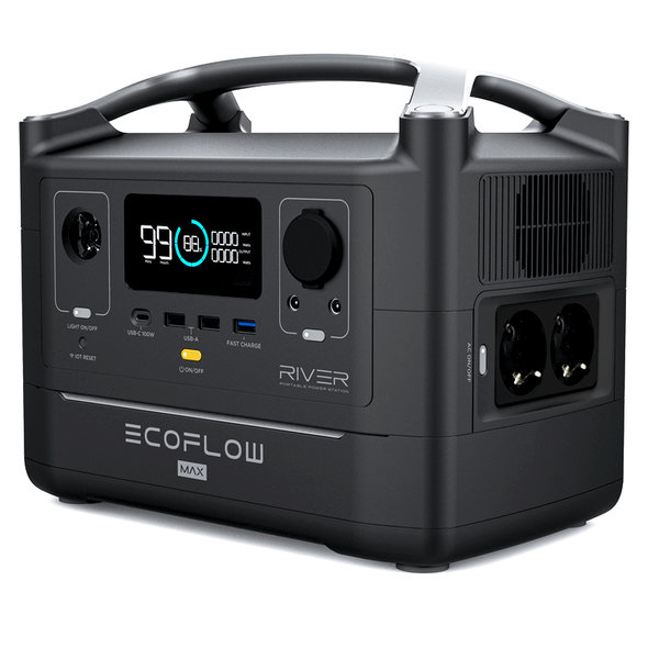 EcoFlow RIVER MAX Powerstation 576 Wh